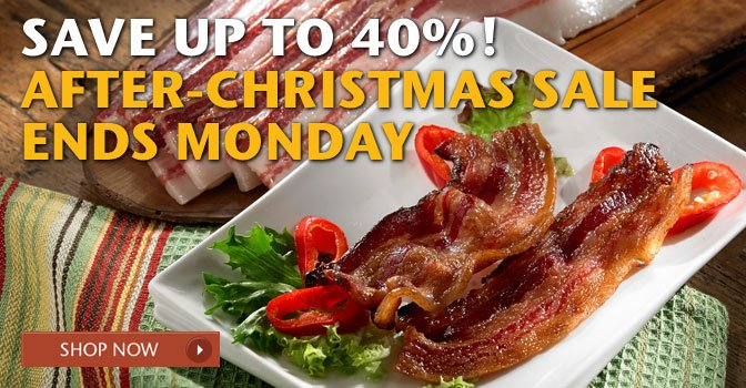 Save Up to 40%! After-Christmas Sale Ends Monday - Shop Now