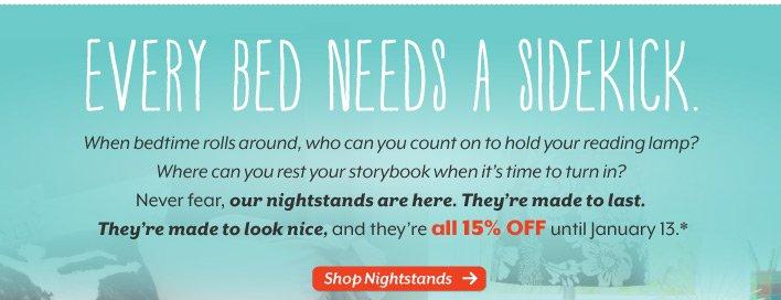 Save  15% on furniture.