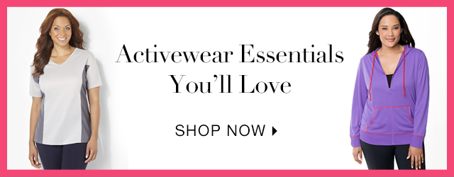 Shop activewear styles you'll love
