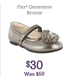 Flex Genevieve Bronze $30 Was $59