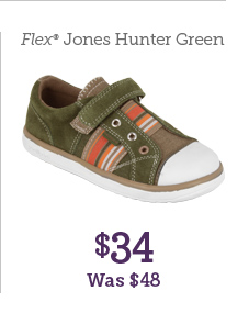 Flex Jones Hunter Green $34 Was $48