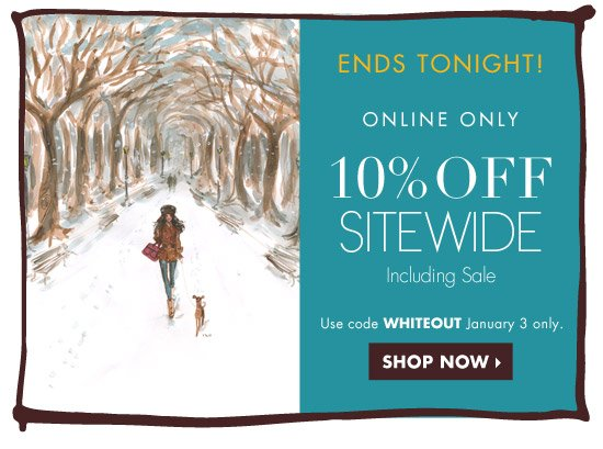 10% OFF SITEWIDE