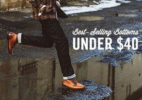 Shop Best-Selling Bottoms Under $40