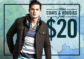 Shop Killer Coats & Hoodies from $20