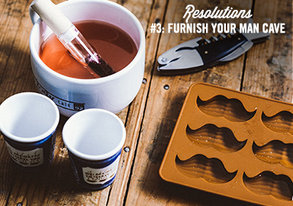 Shop Resolution #3: Furnish Your Man Cave