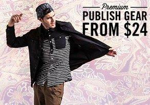 Shop Premium Publish Gear from $24