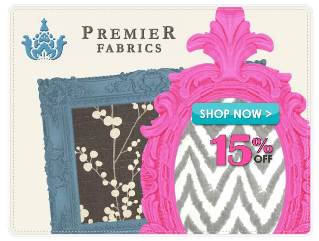 15% Off Premier Prints Home Decor Fabric