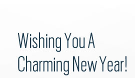 Wishing you a charming new year!