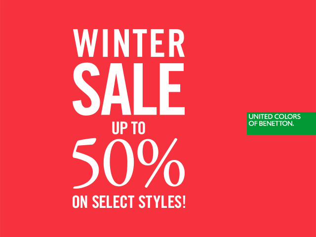 Snowed in? Shop our WINTER SALE - up to 50% Off!
