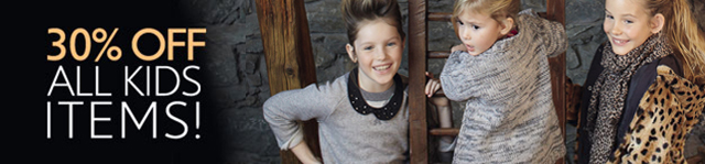 Save on cozy Winter fashions for Kids up to 30% off!