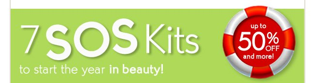 7 SOS Kits to start the year in beauty!
