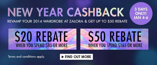 Get up to $50 cashback voucher!