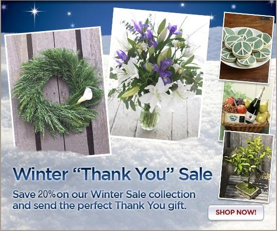 Save 10% on Winter Thank You Gifts!