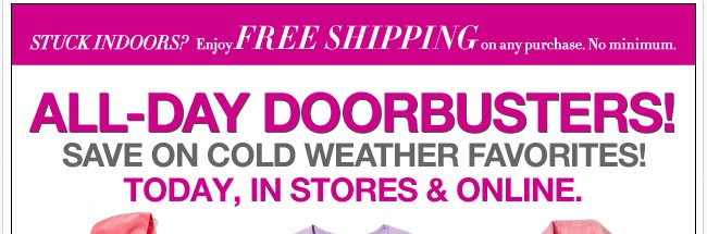 All Day Doorbusters!