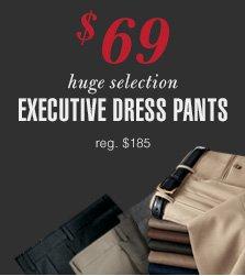 Executive Dress Pants - $69 USD