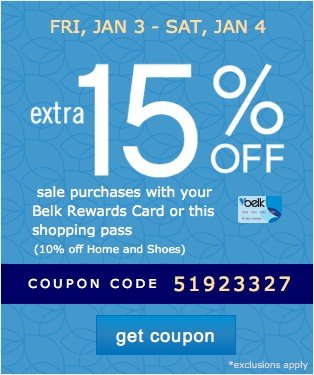 Extra 15% off. Get coupon.