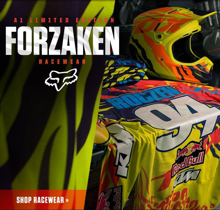 A1 Limited Edition Forzaken Racewear