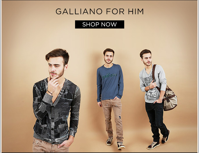 Galliano for Him. Shop Now