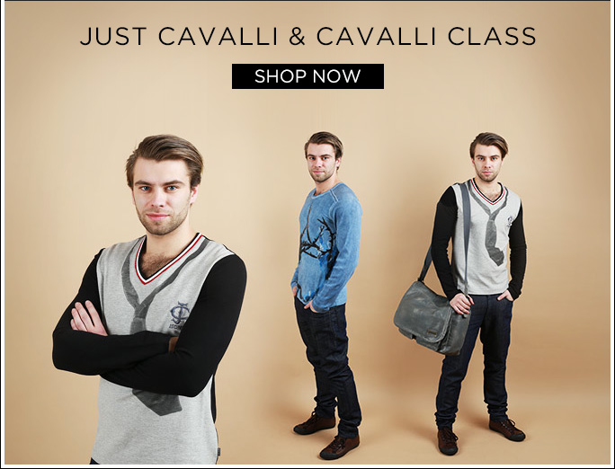 Just Cavalli & Cavalli Class. Shop Now