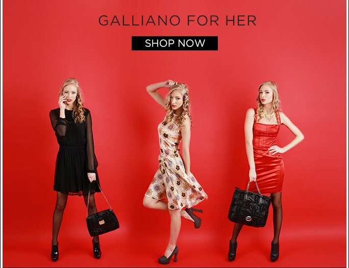 Galliano for Her. Shop Now