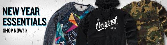 New Year Essentials: Sweatshirts
