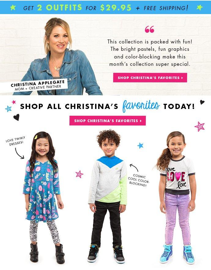 Christina Applegate's Favorite Outfits.