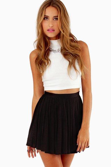 Chilton Pleated Skirt 30