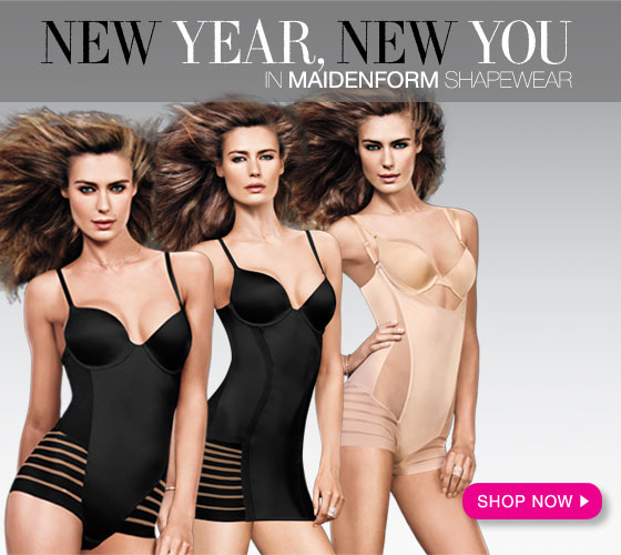 New Year, New You in Maidenform Shapewear