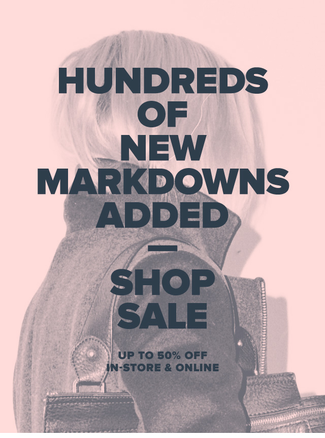 Hundreds of New Markdowns Added—Shop Sale