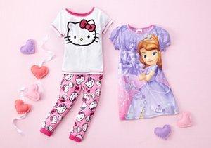 Girls' PJs feat. Hello Kitty & Minnie