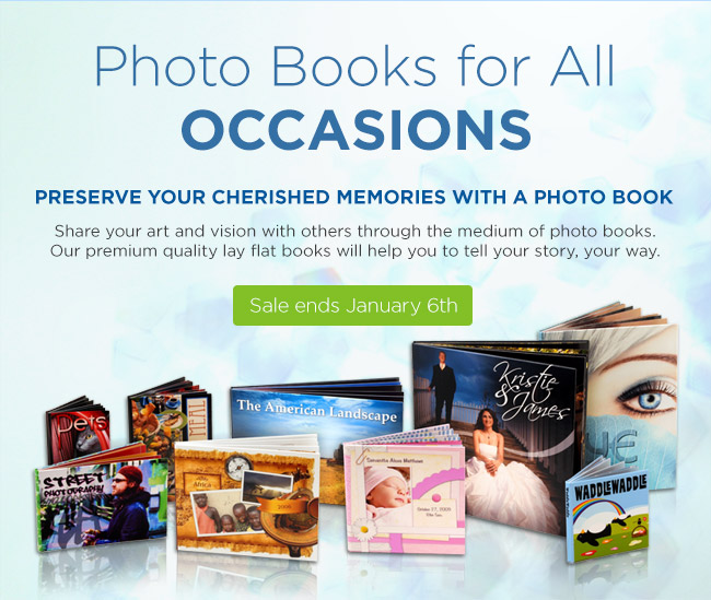 Photo Books for all occassions