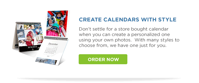 Calendars with style!