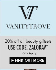 20% OFF ALL BEAUTY GIFT SETS AT VANITY TROVE