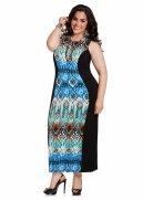 Web Exclusive: Batik Print Maxi Dress