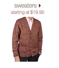 Sweaters: Starting At $19.95