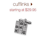 Cufflinks: Starting At $29.95