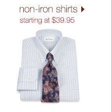 Non-Iron Shirts: Starting At $39.95
