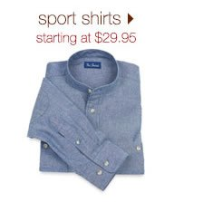 Sport Shirts: Starting At $19.95