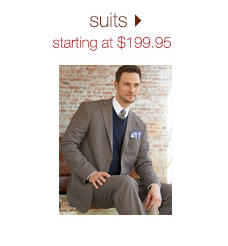 Suits: Starting At $199.95