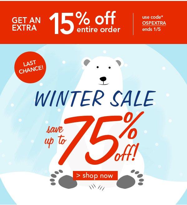 Shop Winter Sale!