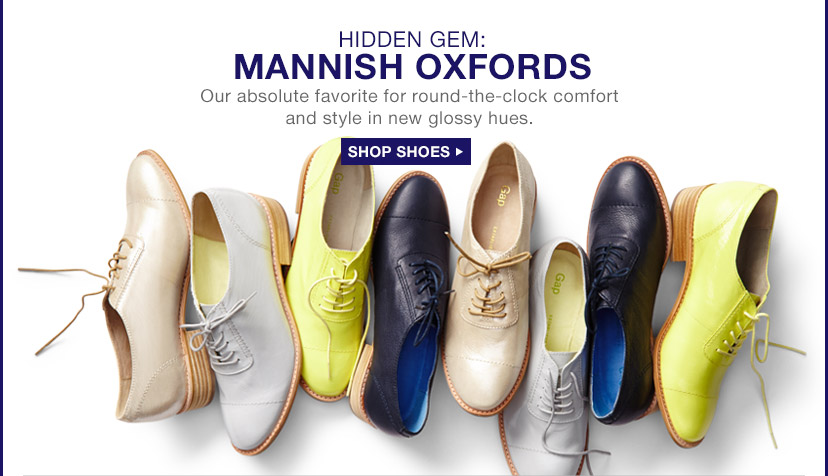 HIDDEN GEM: MANNISH OXFORDS | SHOP SHOES