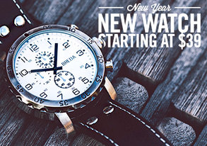 Shop New Year, New Watch: Starting at $39