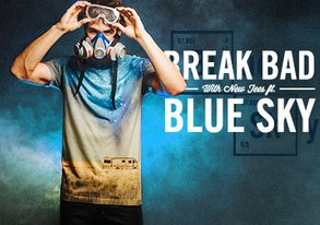 Shop Graphic Tees: Heisenberg's Blue Sky