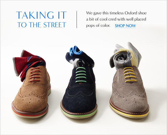 TAKING IT TO THE STREET | SHOP NOW
