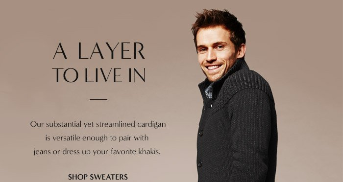 A LAYER TO LIVE IN | SHOP SWEATERS