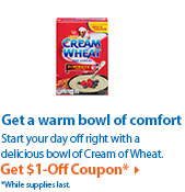 Get $1-Off Coupon*