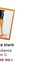 The Sunshine State. Enhances radiance with vitamin C. Ole Henriksen Truth Oil + Truth Serum. OLE HENRIKSEN OIL.