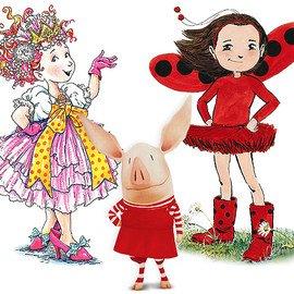 Fancy Nancy, OLIVIA & Ladybug Girl