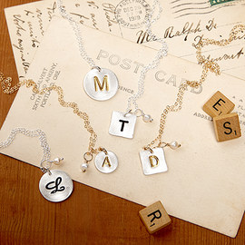 Letter by Letter: Initial Jewelry
