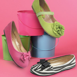 Skip to My Lou: Girls' Flats